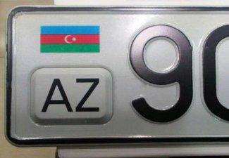 азербайджанские автомобильные номера